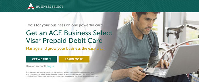 ACE Business Select - Card Acquisition